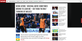 Benik Afobe Interview
