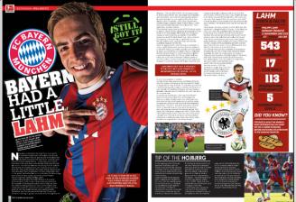 Philipp Lahm #2 - Soccer 360 Magazine