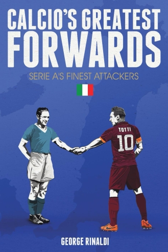 Calcio's Greatest Forwards devotes a chapter to each of the 21 best strikers to have graced L'Italia since 1929. It delves deep into the back stories of the finest attackers in Serie A history; from Gigi Riva's historic Scudetto with Cagliari; to Roberto Boninsegna and an infamous incident involving a Coca-Cola can; to the modern era, and the Divine Ponytail Roberto Baggio. George Rinaldi explores the fine careers of these footballers and it is one place where Silvio Piola doesn't come first.