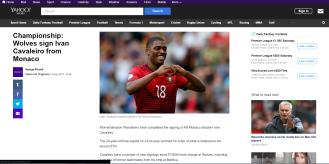 Ivan Cavaliero - Yahoo! Sport UK
