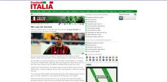 Write up on Arsenal Legends v AC Milan Legends