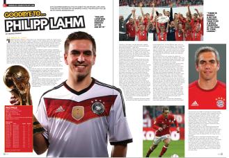 Philipp Lahm - Soccer 360 Magazine