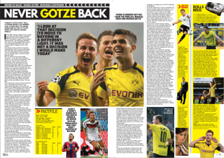 Mario Gotze - Soccer 360 Magazine