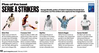 Guest Writer - Sport magazine